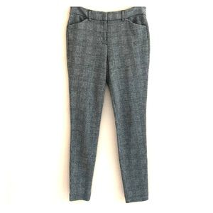 Express Mid Rise Stretch+ Houndstooth Skinny Pants